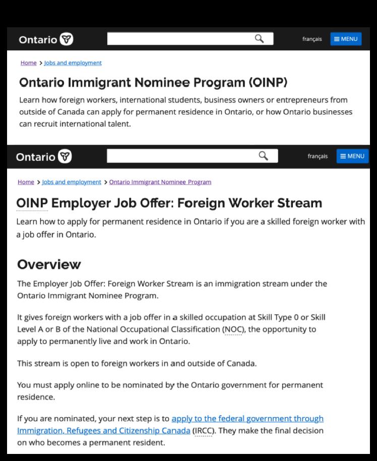 加拿大移民加拿大雇主担保
