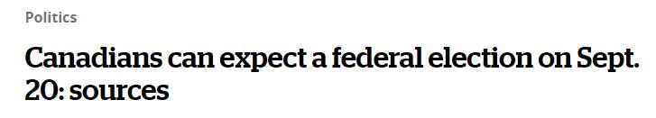 加拿大政策新闻